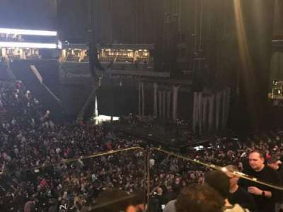 Barclays Center, section: A15, row: BS, seat: 3