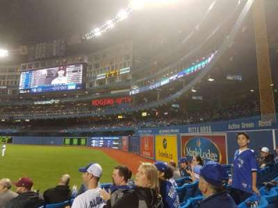 Rogers Centre, section: 113dl, row: 9, seat: 101