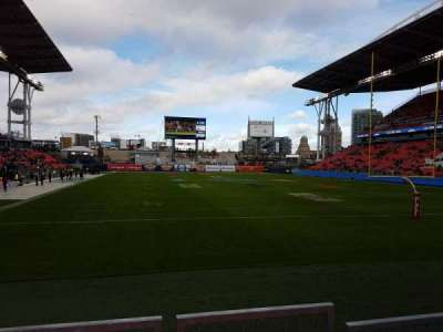 BMO Field, section: 116, row: 9, seat: 9