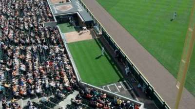 Comerica Park, section: 344, row: A, seat: 22