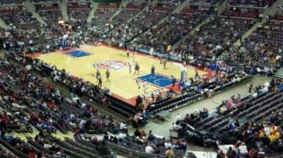 The Palace of Auburn Hills, section: 226, row: 1, seat: 11