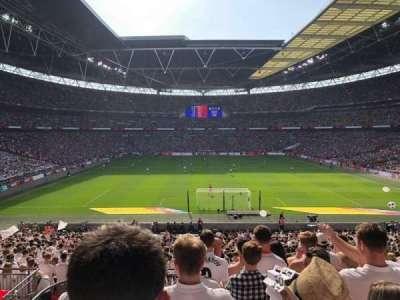 Wembley Stadium section 112