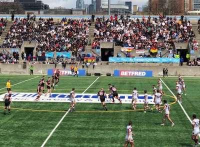 Lamport Stadium, section: East, row: Ga, seat: Midfield