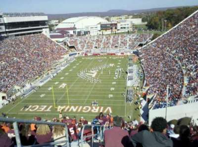 Lane Stadium section 503