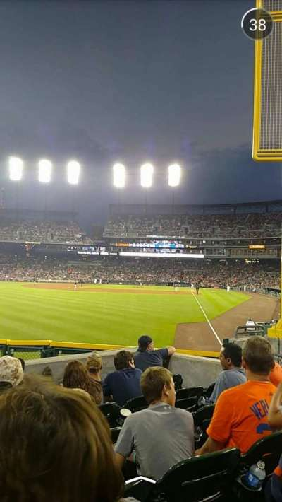 Comerica Park, section: 144, row: H, seat: 11