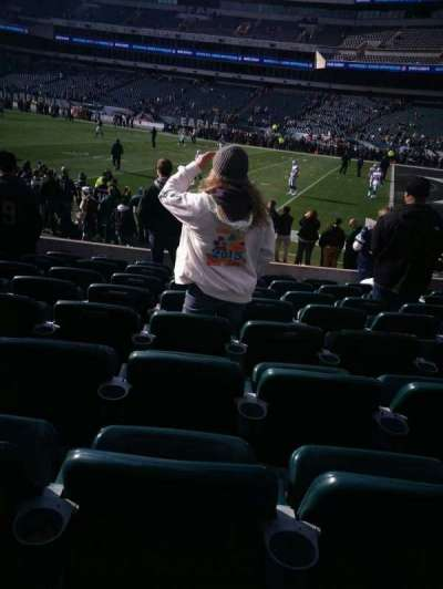 Lincoln Financial Field, section: 124, row: 9, seat: 16