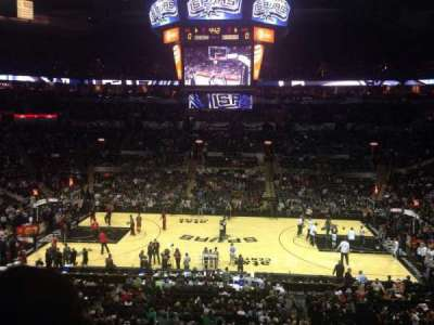 AT&T Center, section: 107, row: 31, seat: 5