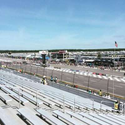 Pocono Raceway Section 214 Row 37 Seat 10