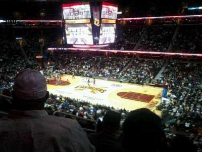 Quicken Loans Arena, section: 111, row: 28, seat: 6