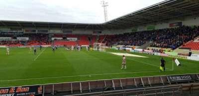 Keepmoat Stadium, section: 8, row: H, seat: 58