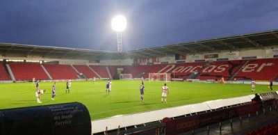 Keepmoat Stadium, section: 27, row: G, seat: 56