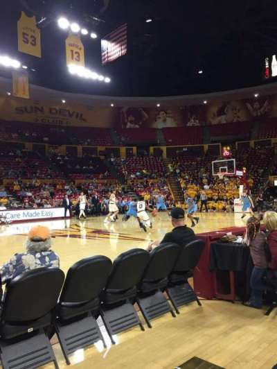 Wells Fargo Arena (Tempe), section: U, row: 2, seat: 7