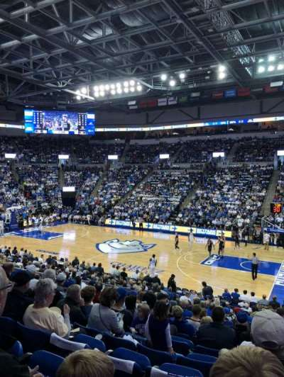 Chaifetz Arena, section: 102, row: T, seat: 7
