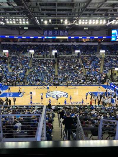 Chaifetz Arena, section: 214, row: D, seat: 17