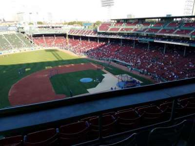 Fenway Park, section: 3rd Base Pavillion