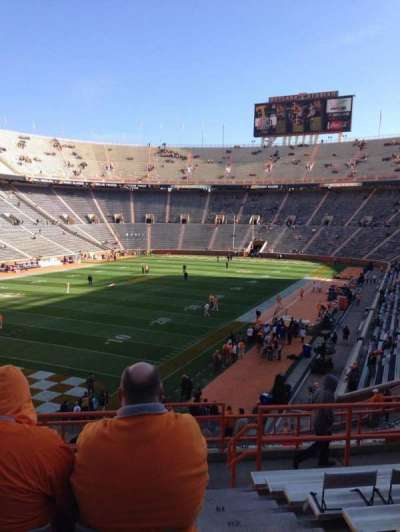 Neyland Stadium, section: X5, row: 25, seat: 1