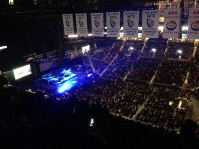 Barclays Center, section: 222, row: 15, seat: 8