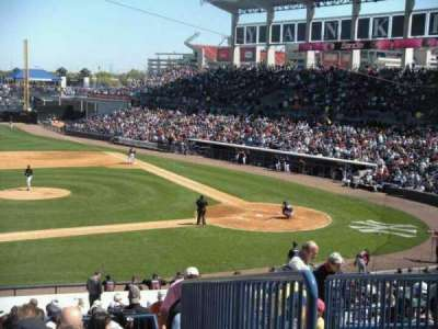 George M. Steinbrenner Field, section: 216