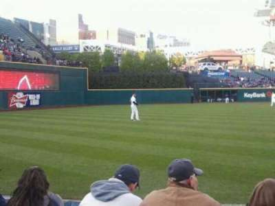 Progressive Field, section: 172, row: E, seat: 1