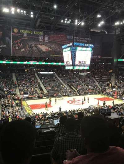 Philips Arena, section: 213, row: C, seat: 12