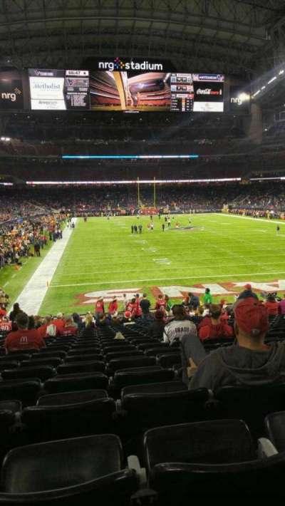 NRG Stadium, section: 138, row: x, seat: 15
