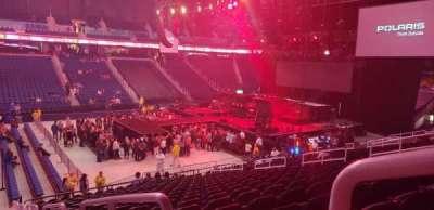 Greensboro Coliseum, section: 124, row: TT, seat: 1