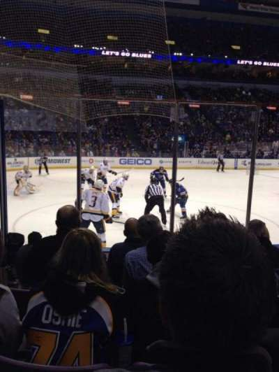 Scottrade Center, section: 118, row: G, seat: 14