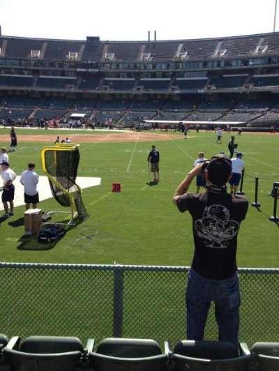 Oakland Alameda Coliseum section 140