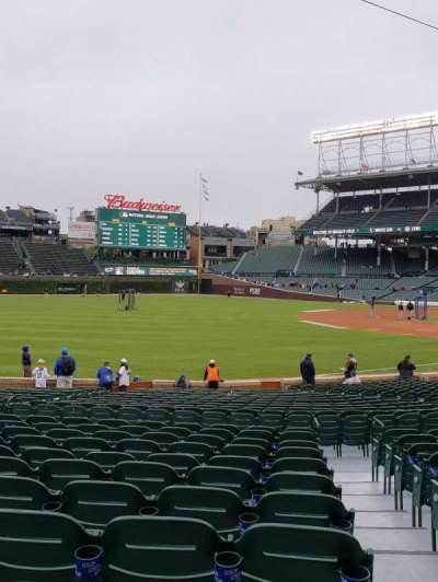 Wrigley Field section 104