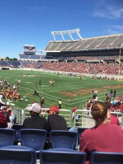 Camping World Stadium, section: 127, row: U, seat: 28