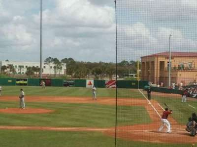 Osceola County Stadium, section: 206, row: M, seat: 7