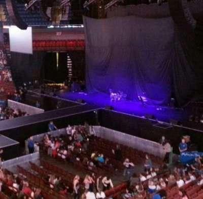 Mohegan Sun Arena, section: 107, row: A, seat: 13,14