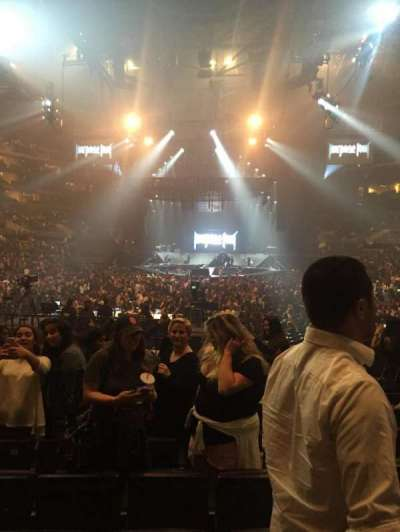 Staples Center, section: 106, row: 12, seat: 15
