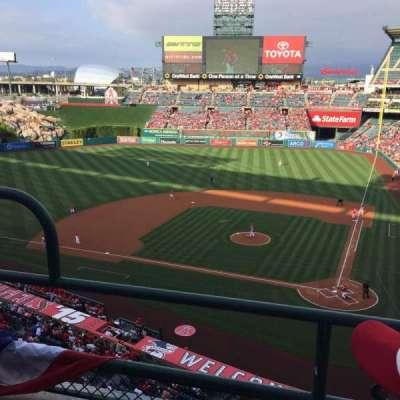 Angel Stadium, section: V415, row: B, seat: 3