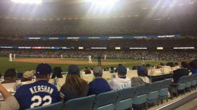 Dodger Stadium, section: 37FD, row: A, seat: 8