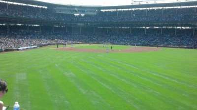 Wrigley Field section Bleacher