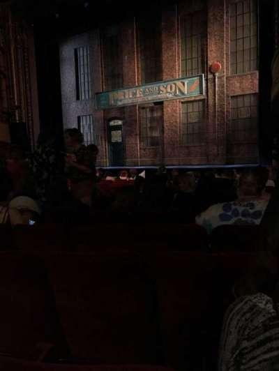 Al Hirschfeld Theatre, section: Orchestra R, row: O, seat: 14
