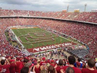Cotton Bowl, section: 141, row: 25, seat: 35