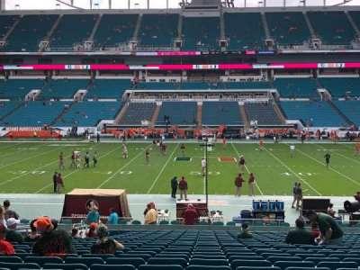 Hard Rock Stadium, section: 118, row: 28, seat: 14