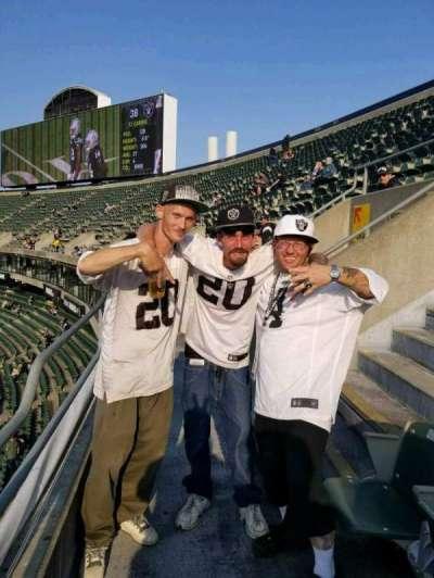 Oakland Alameda Coliseum, section: 221