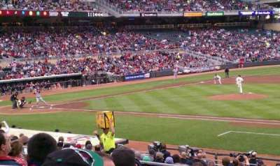 Target Field Section 107 Home Of Minnesota Twins