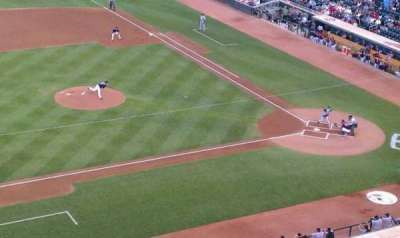 Target Field, section: 222, row: 1, seat: 8