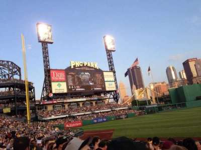 PNC Park, section: 27, row: J, seat: 1