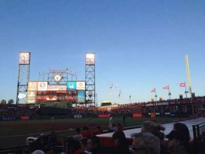 AT&T Park section 110