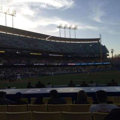 Dodger Stadium section 20FD