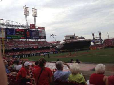 Great American Ball Park section 119A