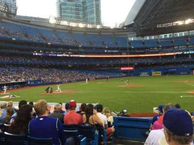 Rogers Centre, section: 117, row: 15, seat: 1