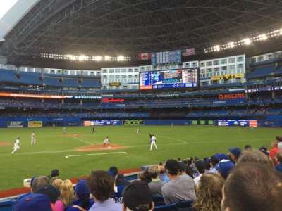 Rogers Centre, section: 117R, row: 15, seat: 1