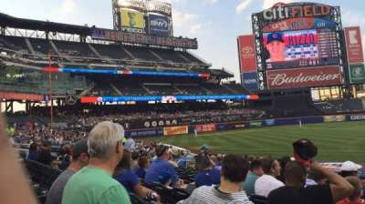 Citi Field, section: 122, row: 15, seat: 16