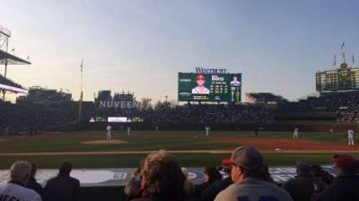 Wrigley Field, section: 27, row: 7, seat: 1
